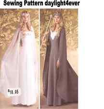Women Queen Princess Medieval Wedding Dress Costume 16-24 Sewing Pattern 1551 #k