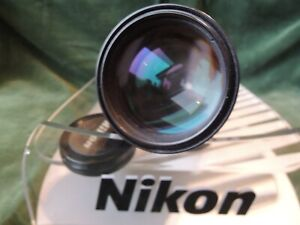NIKON AI-S 135mm F 2.8 SUPERB  TELE LENS