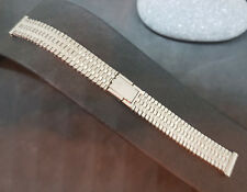 1970'S 14 MM NSA STAINLESS STEEL BRACELET BAND STRAP NOS
