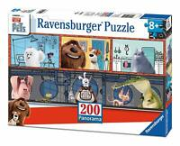 Ravensburger 12834 Puzzle  Secret Life of Pets 200 Pièces Panorama 8ans ou plus