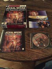 Star Wars Episode 1 Phantom Menace PC Big Box Cd Game Win 95 98 PC1