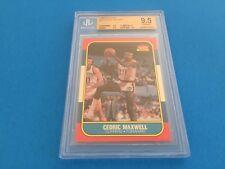 Cedric Maxwell Celtics 1986 Fleer #70 BGS 9.5 Gem Mint