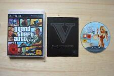 Ps3-Grand Theft Auto V/GTA 5 - (scatola originale, con istruzioni)
