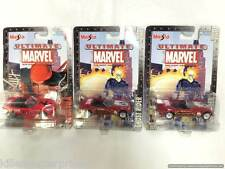 Ultimate Marvel Series 1 Die-Cast Collection Set Maisto 2002