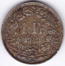 1943B Suisse 1 Franc *** collector ***