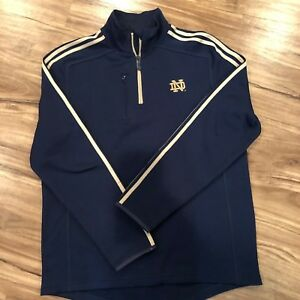 Adidas Notre Dame Fighting Irish M Pull Over Blue