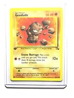 GEODUDE - 47/62 - 1st Edition Fossil - Common - Pokemon Card -  NM