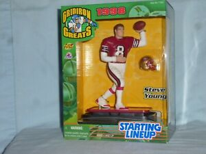 Steve Young STARTING LINEUP San Francisco 49ers ACTION FIGURE Gridiron Greats