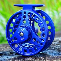 Fly Fishing Reel 3/4 5/6 7/8WT CNC-machined Large Arbor Aluminum Casting Wheels