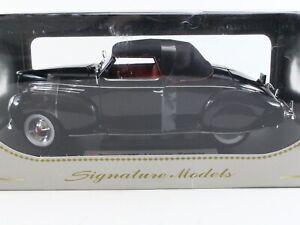 1939 Lincoln Zephyr Black Signature Models 1:18 Scale 18102