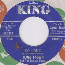 JAMES BROWN - SO LONG / DANCIN' LITTLE THING, US King, 45-5899, '64