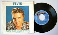 "NM Elvis Presley SANTA CLAUS IS BACK IN TOWN 7"" VINYL 45 NEAR MINT EX+ RCA 16"