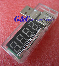 USB Charger Doctor Voltage Current Meter Battery Tester Power Detector M47