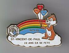 RARE PINS PIN'S .. DISNEY FRANCE ANCIEN VINTAGE 89 INSPIRATION TIC & TAC ONG ~20