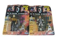 Star Trek Generations Playmates Vintage Action Figures Data Captian Kirk NWT