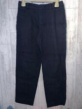 Boys Age 10-11 Years - M&S Navy Smart Trousers
