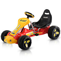 Go Kart Kids Ride On Car Pedal Powered Car 4 Wheel Racer Stealth Christmas Gift
