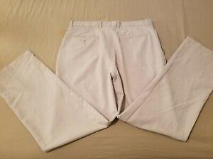 Mens Callaway Golf Pants 34x32 Khaki Athletic Slack Trouser