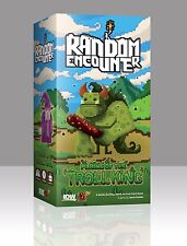 Random Encounter Plains Of The Troll King Card Game IDW 01024 Family 8 Bit