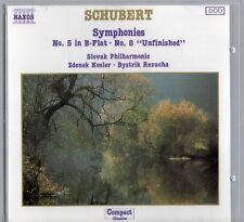 Schubert: Symphonies No.5 in B-Flat and No. 8 'Unfinished'