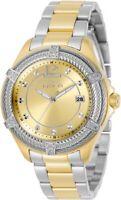 Invicta Bolt Quartz Gold Dial Two-tone Ladies Watch 30884