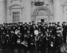 US President Woodrow Wilson youth band members White House 1913 New 8x10 Photo