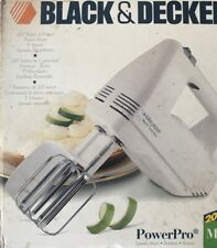 Vintage Black and Decker PowerPro MX70 Mixer NIB 5 Speed New Old Stock