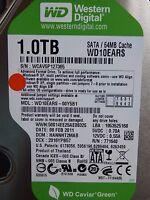 1TB Western Digital WD10EARS-22Y5B1 | DCM: HANNHT2MAB | 08 FEB 2011