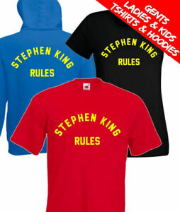 Stephen King Rules Monster Squad 80s Movie T Shirt / Hoodie