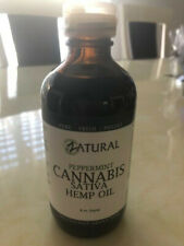 Hemp oil - Cold Pressed Seed Oil Peppermint Flavor