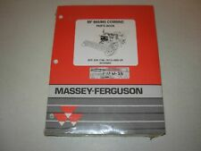 Massey Ferguson MF 860 , MF 865  Combine Parts Manual , s/n 1746-19115 - up