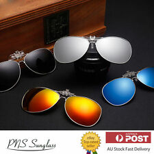 UV 400 Flap up Sunglasses Mens Womens Clip On Summer Sunglasses Aviator AU Stock