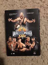 WWE - Wrestlemania XXIV 24 (DVD, 2008, 3-Disc Set)