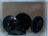 1x Lego China Hat Dragon Guard Sat Bowl Dark Gray 3x3 7416 7419 43898px2