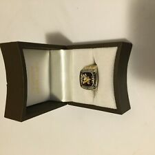1991 PittsburghPenguins Stanley Cup Ring. Gold Colour. Jewellery Collect Men NHL