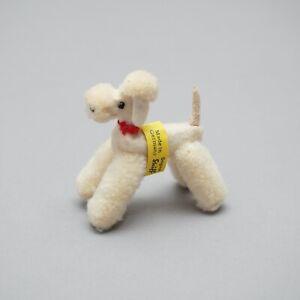 Steiff Wollpudel weiß mini Pudel 1.123AIO