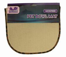 Dog Cat Pet Bowl Microfibre Mat Tray Prevent Mess Washable Non Slip 32cm x 54cm