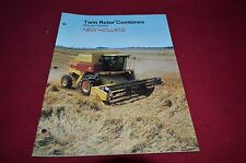 New Holland TR86 TR96 Twin Rotor Rice & Soybean Combine Dealer's Brochure DCPA2