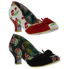 Irregular Choice Women's Textile Mid Heel (1.5-3 in.) Shoes