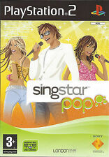 SINGSTAR POP for Playstation 2 PS2 - with box & manual - PAL