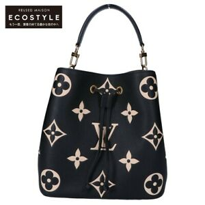LOUIS VUITTON M45497 Neo Noe MM 21 Years Monogram Ann Platt Leather Handbag