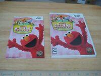 Sesame Street: Elmo's A-to-Zoo Adventure - The Videogame (Nintendo Wii, 2010) VG