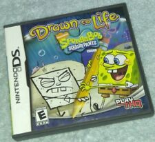 Drawn to Life SpongeBob SquarePants Edition Nintendo DS , 3 D's , 2ds complete