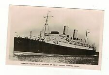 CANADIAN PACIFIC.S.S.DUCHESS OF YORK OLD R.P POSTCARD SEE PICTURES
