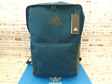 adidas Athletics 3 Stripes Trefoil Backpack Mens Womens School Gym Colleage Blue