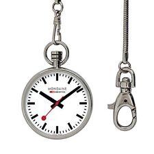 Relojes de bolsillo unisex de acero inoxidable
