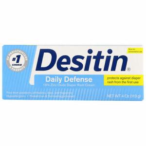 Desitin, Diaper Rash Cream, Daily Defense, 4 oz (113 g)