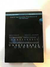 Bruce Willis And Samuel L. Jackson 'Unbreakable' Dvd