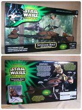 "STAR WARS - HASBRO - POTJ - Speeder Bike & Luke - 12"" - 1/6 - NEUF"