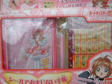 Rare! Cardcaptor Sakura Sticker's Funny Notebook Omajinai THE CLOW BANDAI